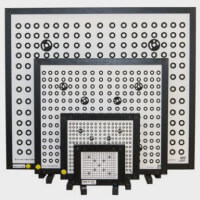 Calibration plaque